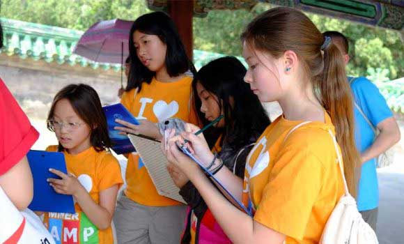 Studying Chinese at Chinese Summer Camp