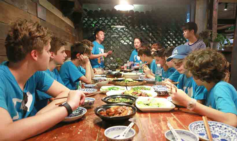 Food and Nutritions at Summer Camp