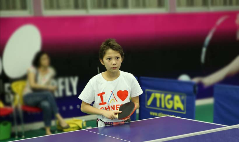 Charlotte's Pingpong Experience